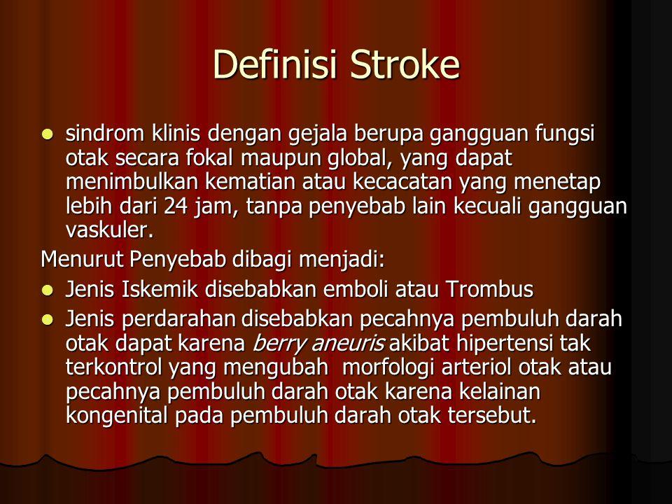 Definisi Stroke