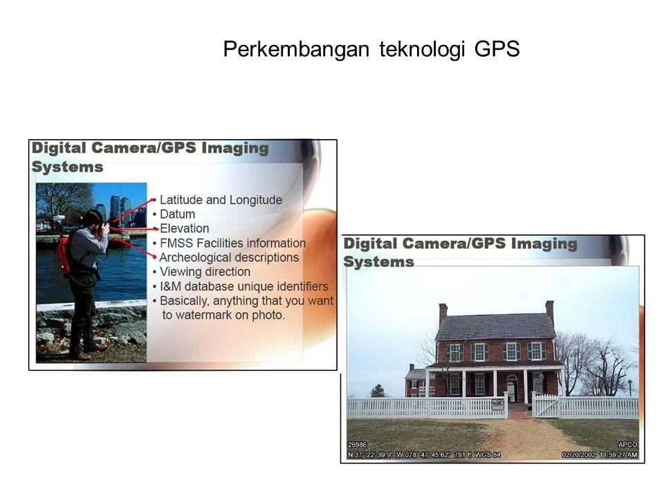 Perkembangan teknologi GPS