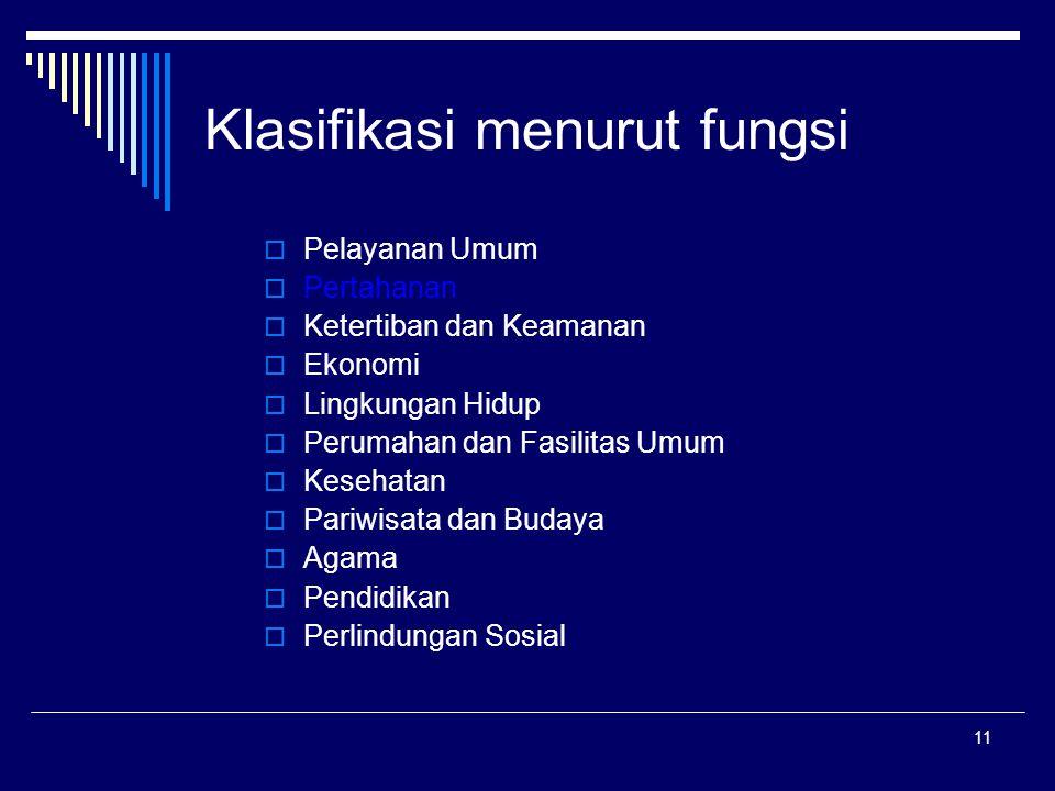 Klasifikasi menurut fungsi