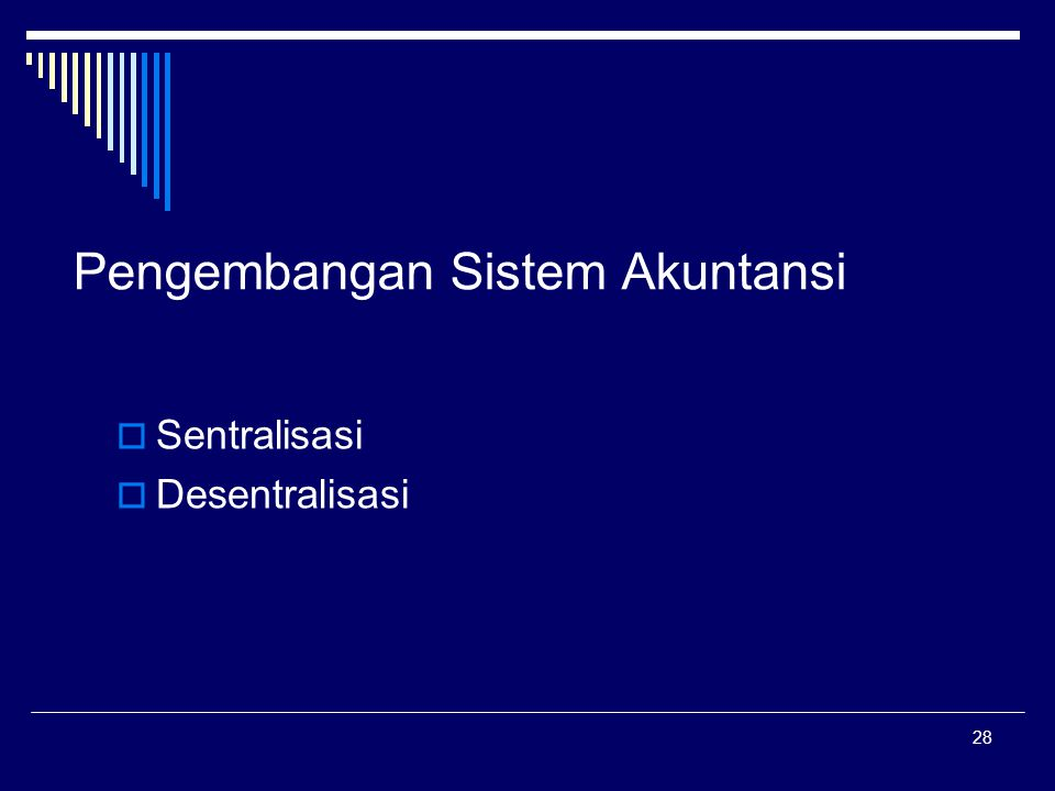 Pengembangan Sistem Akuntansi