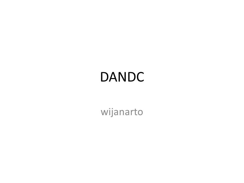 DANDC wijanarto