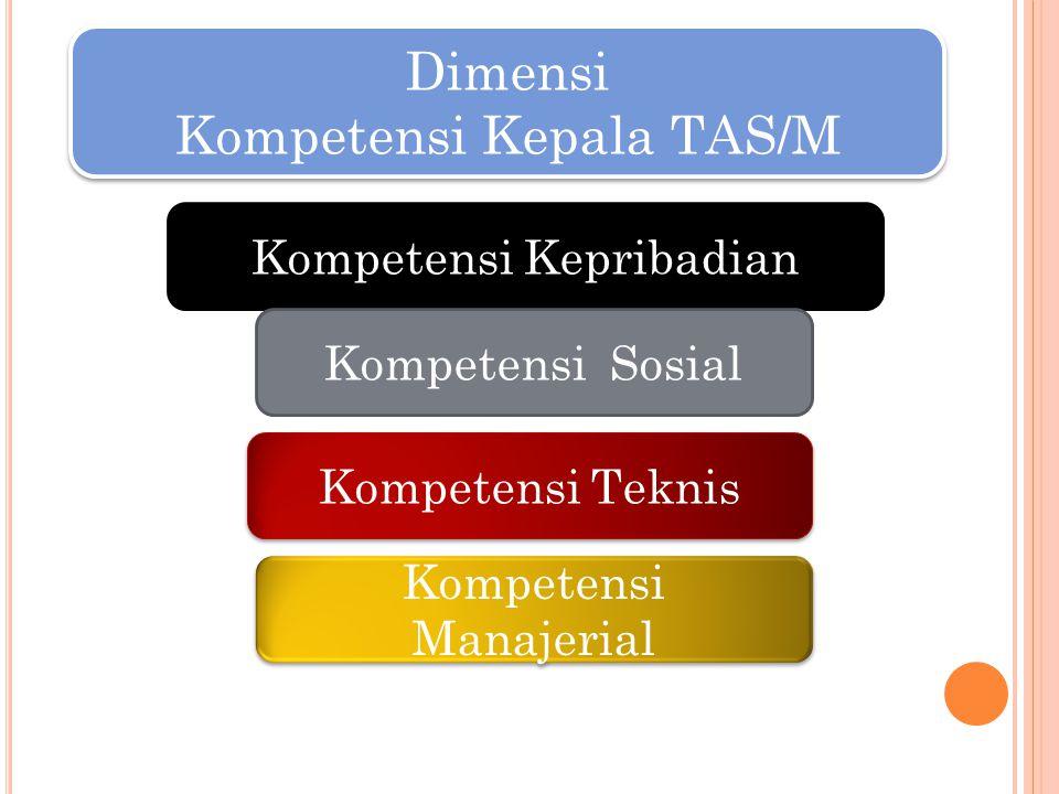 Kompetensi Kepala TAS/M