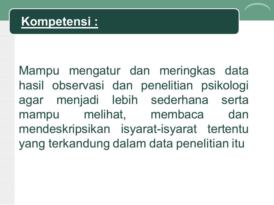 Kompetensi :