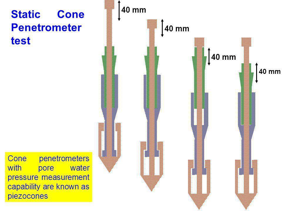 Static Cone Penetrometer test