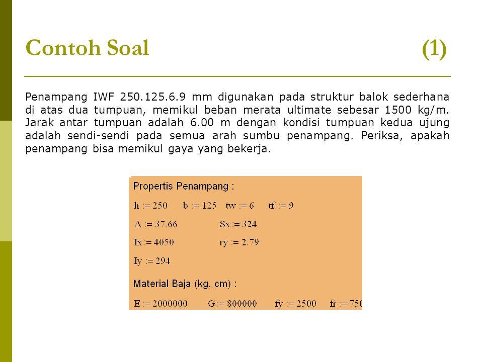 Contoh Soal (1)