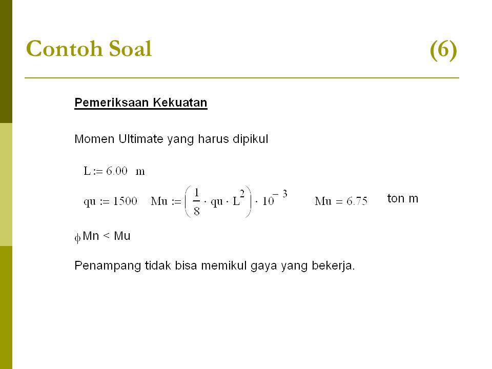 Contoh Soal (6)