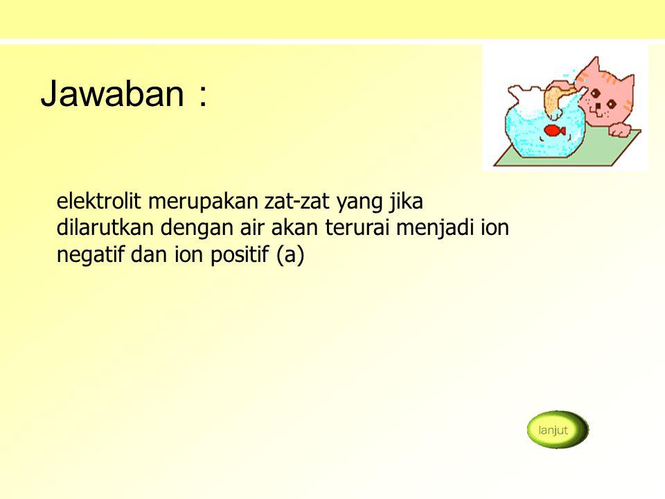 a. larutan urea 1M b. larutan asam cuka 0,1 M c. larutan asam cuka 1 M