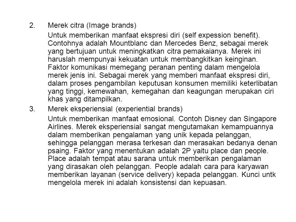 2. Merek citra (Image brands)