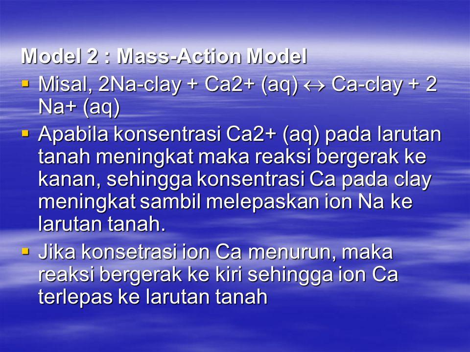 Model 2 : Mass-Action Model