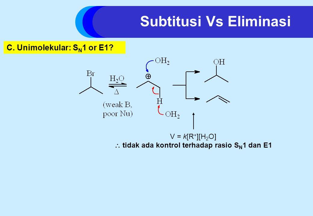  tidak ada kontrol terhadap rasio SN1 dan E1