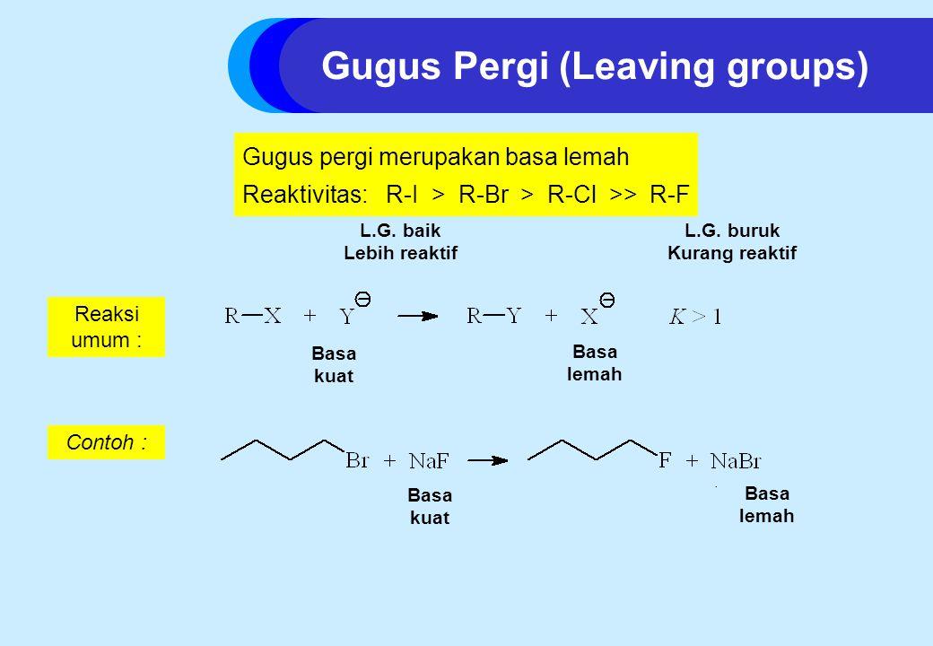 Gugus Pergi (Leaving groups)
