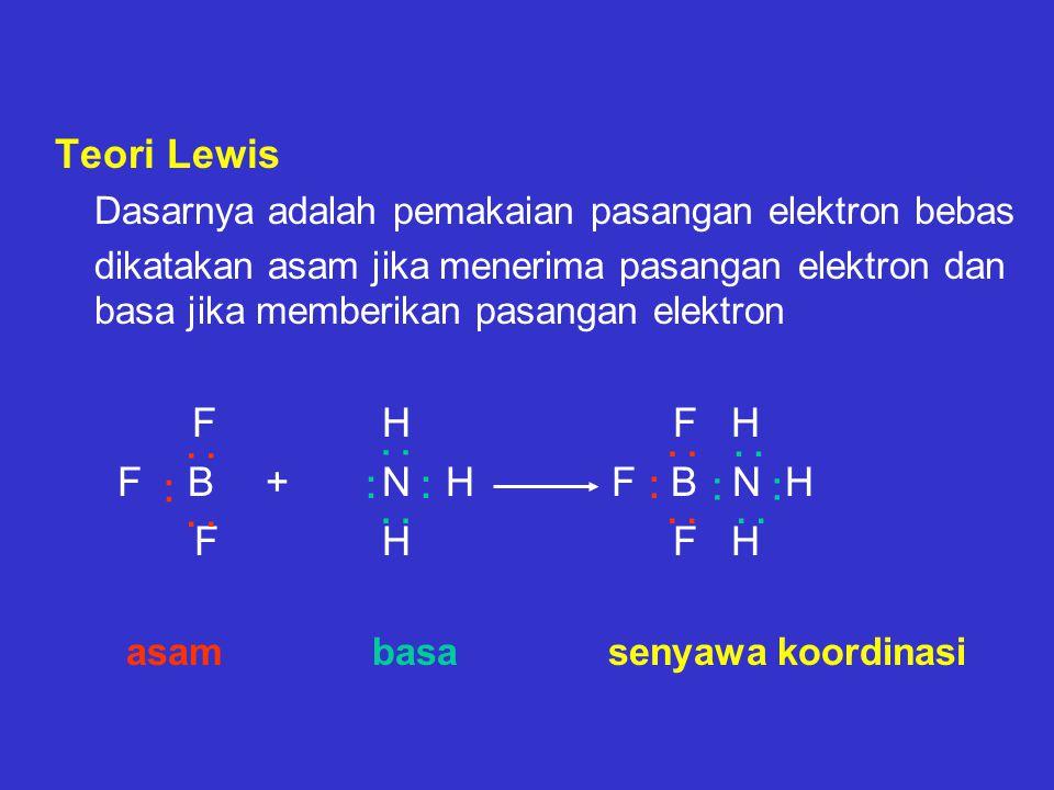 Teori Lewis F B + N H F B N H F H F H