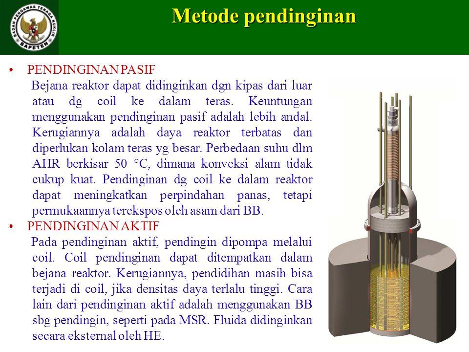 Metode pendinginan PENDINGINAN PASIF