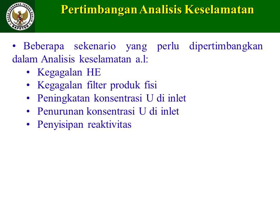 Pertimbangan Analisis Keselamatan