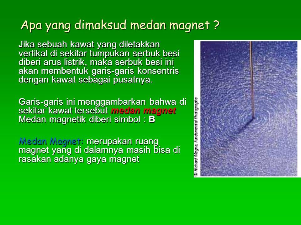 Apa yang dimaksud medan magnet
