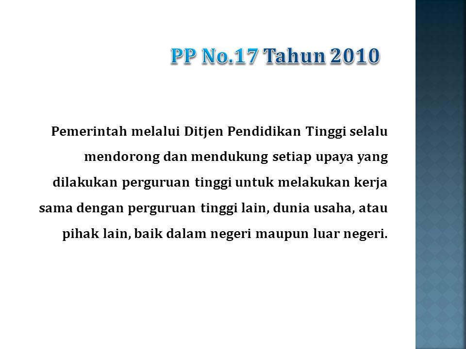 PP No.17 Tahun 2010