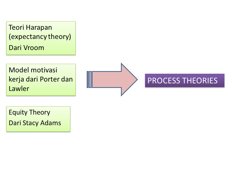 PROCESS THEORIES Teori Harapan (expectancy theory) Dari Vroom