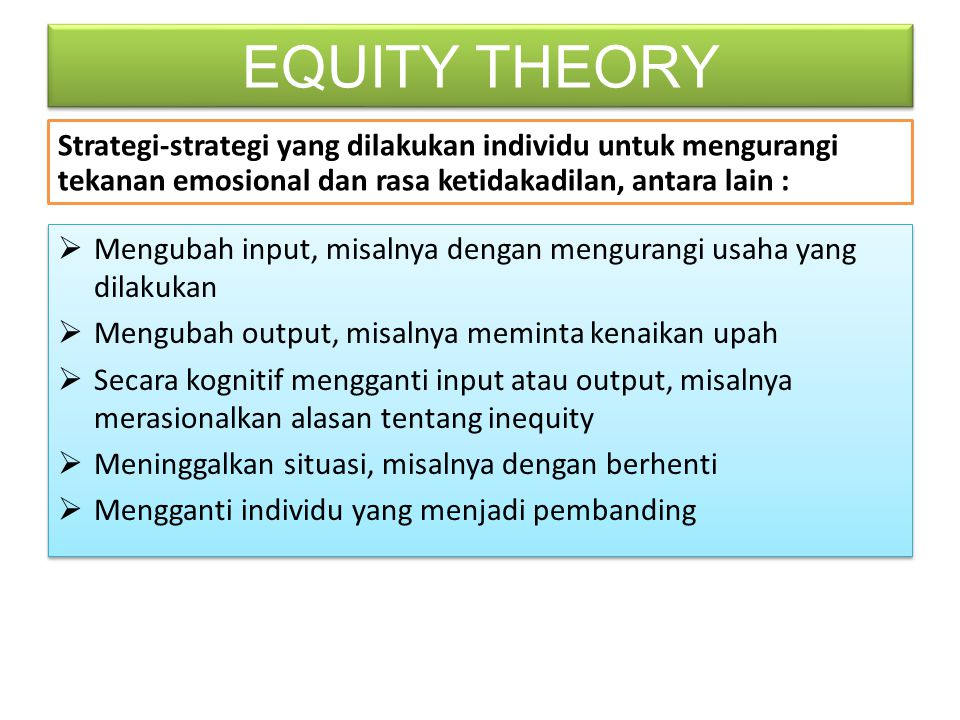 the equity theory in the workforce 12 psychology concepts for improving employee motivation a motivated workforce the equity theory 12 psychology concepts for improving employee.