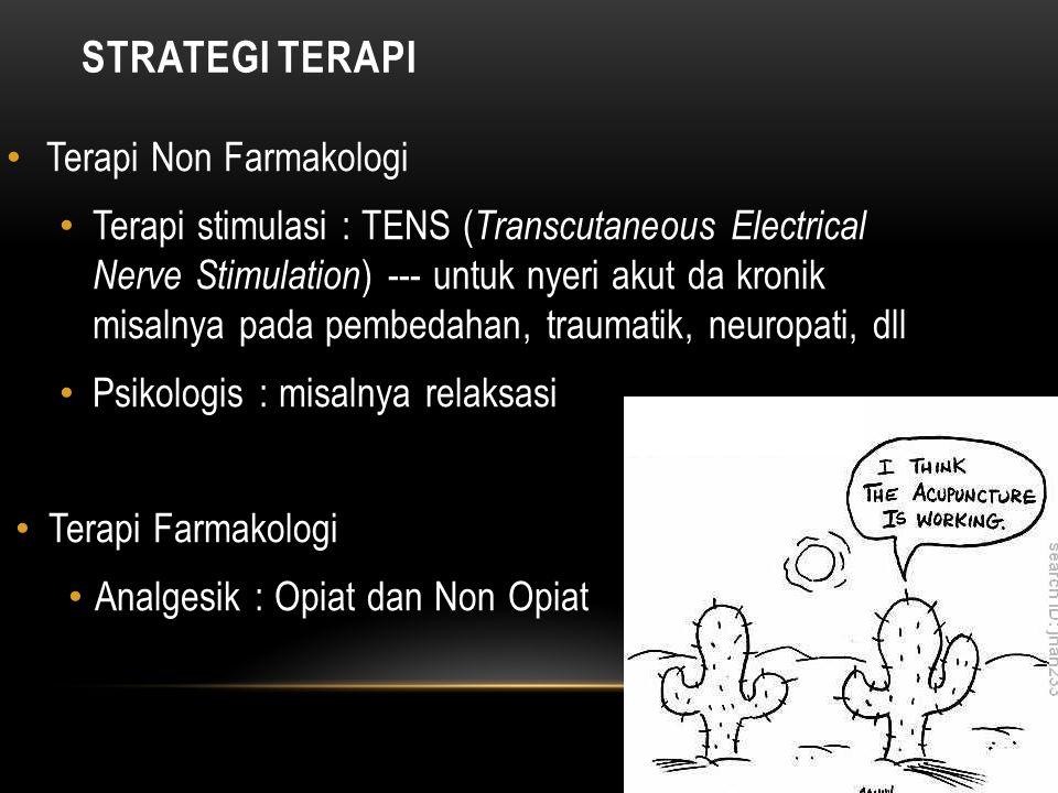STRATEGI TERAPI Terapi Non Farmakologi