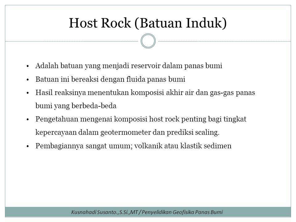Host Rock (Batuan Induk)