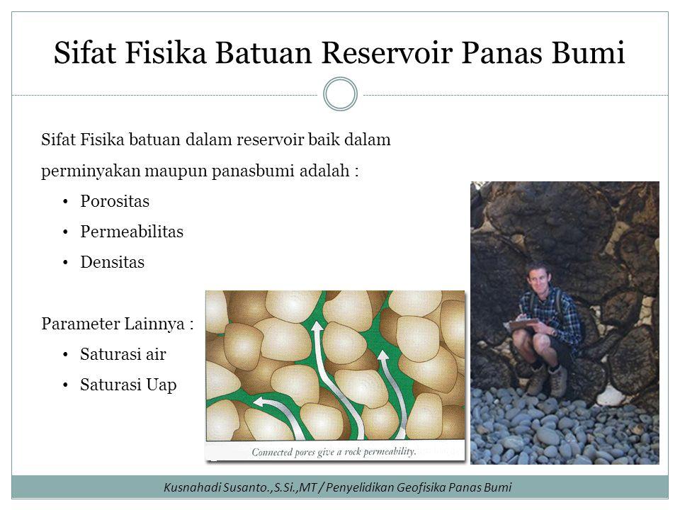 Sifat Fisika Batuan Reservoir Panas Bumi
