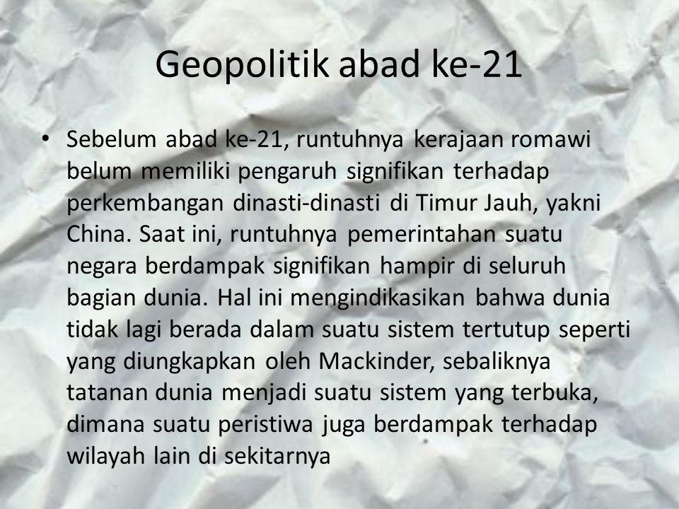 Geopolitik abad ke-21