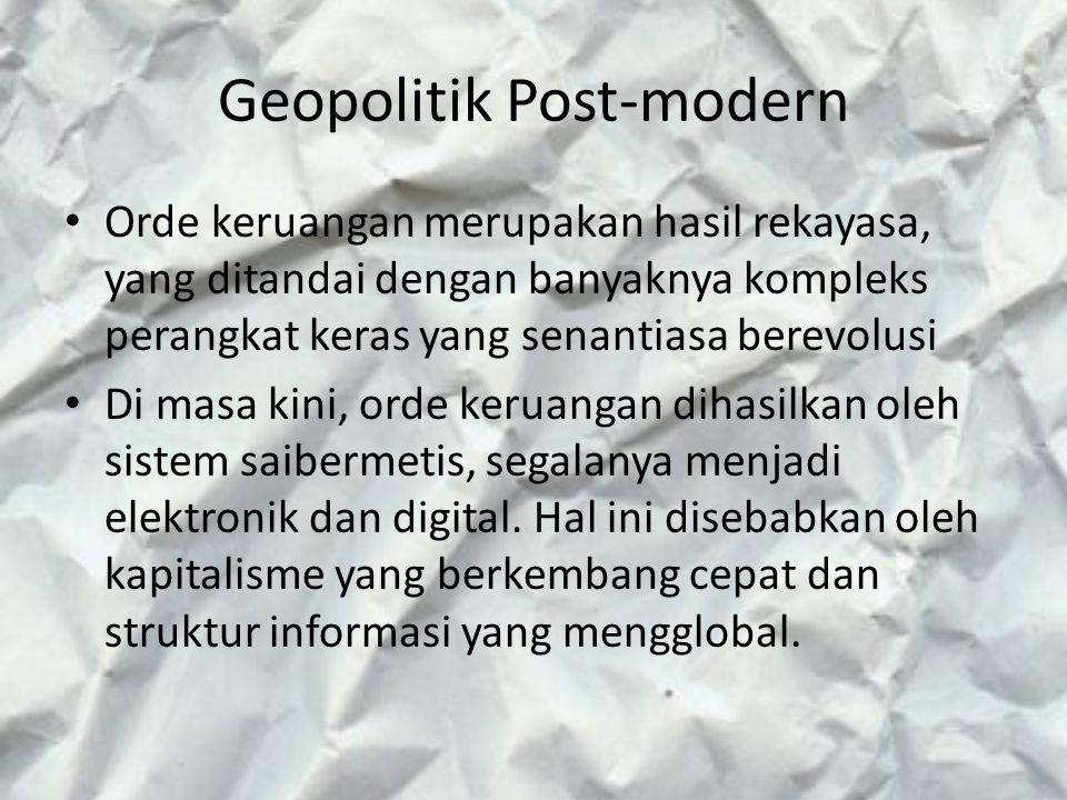 Geopolitik Post-modern