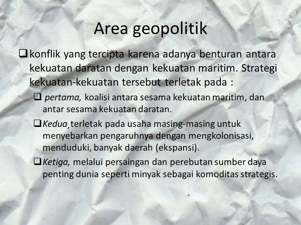 Area geopolitik