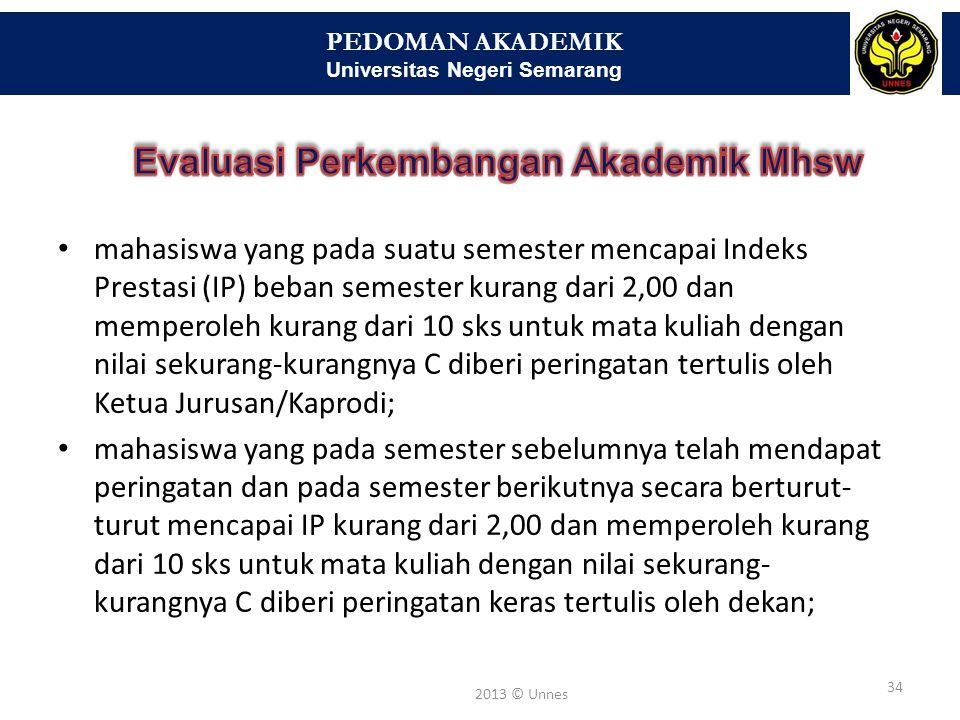 PEDOMAN AKADEMIK Universitas Negeri Semarang