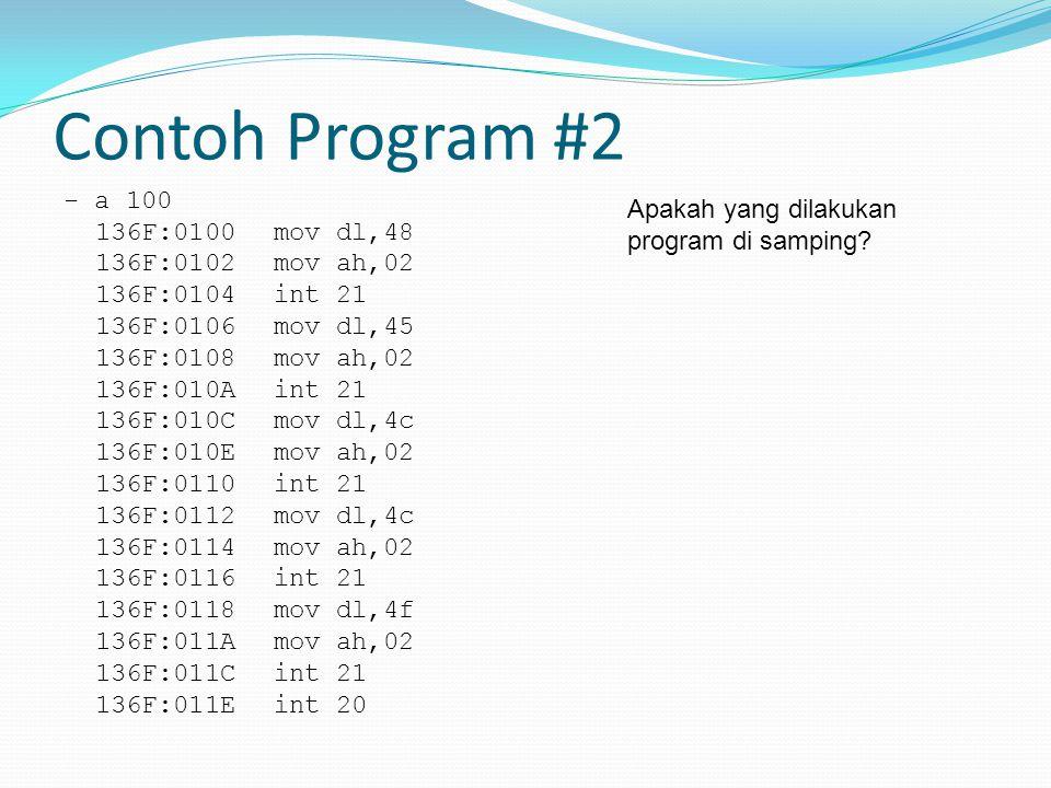 Contoh Program #2