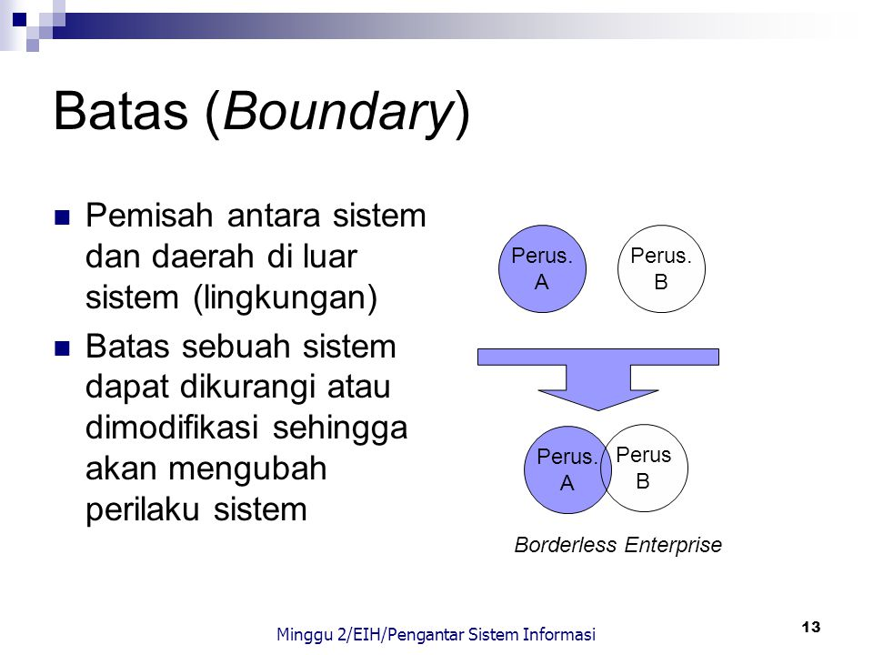 Minggu 2/EIH/Pengantar Sistem Informasi