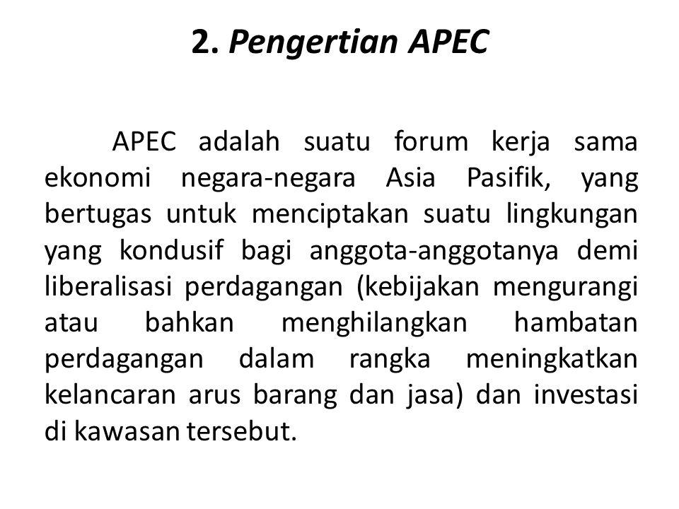 2. Pengertian APEC