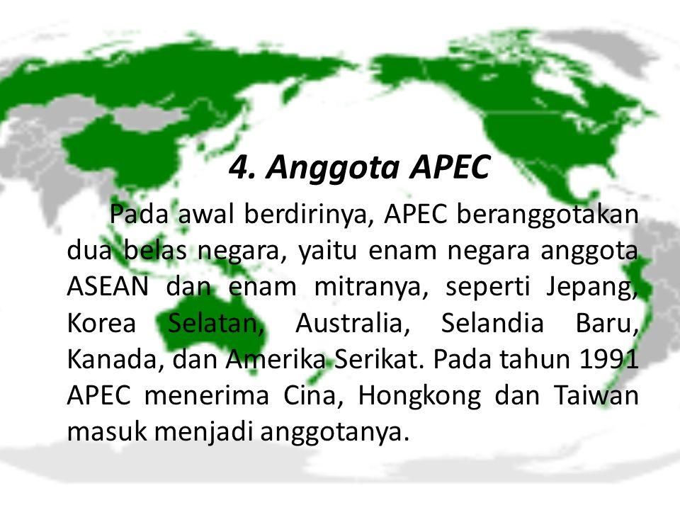 4. Anggota APEC