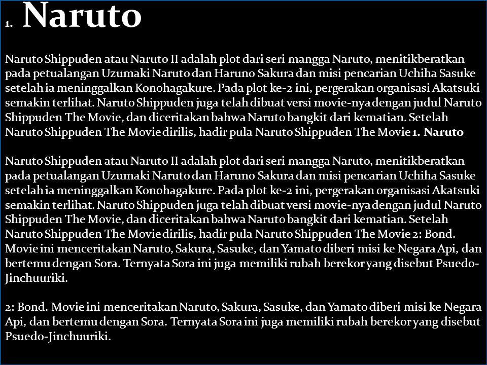 1. Naruto