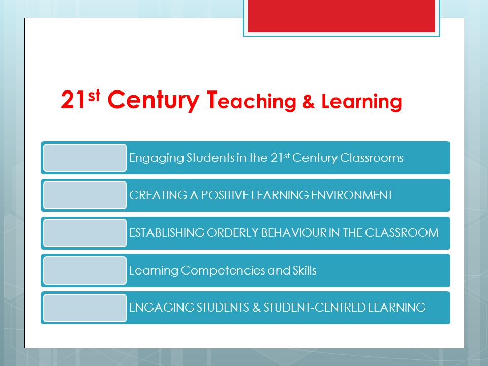 21st Century Teaching & Learning