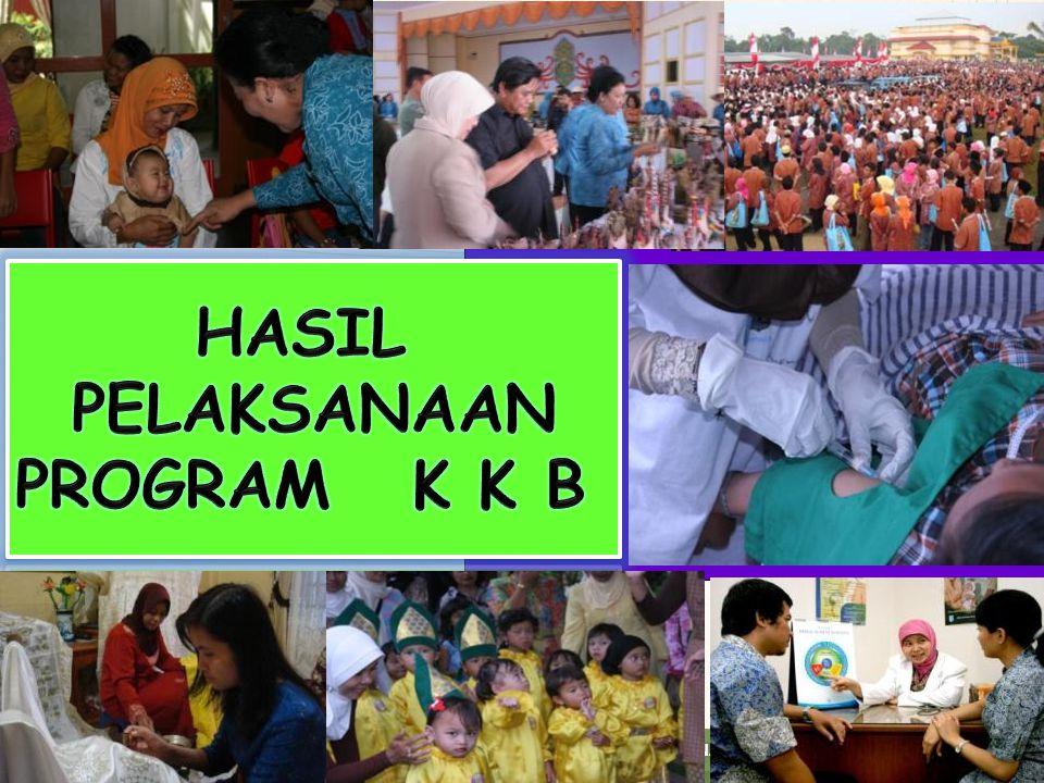 HASIL PELAKSANAAN PROGRAM K K B