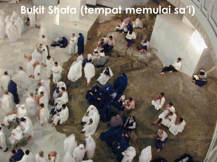 Bukit Shafa (tempat memulai sa'i)