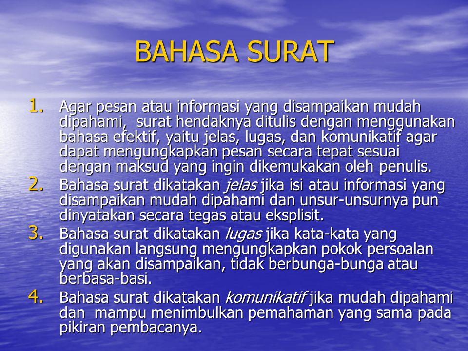 BAHASA SURAT
