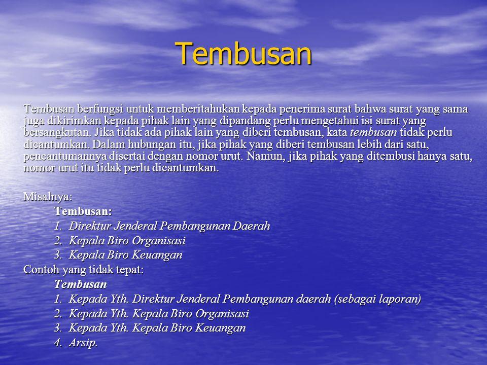 Tembusan