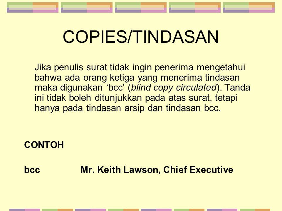 COPIES/TINDASAN
