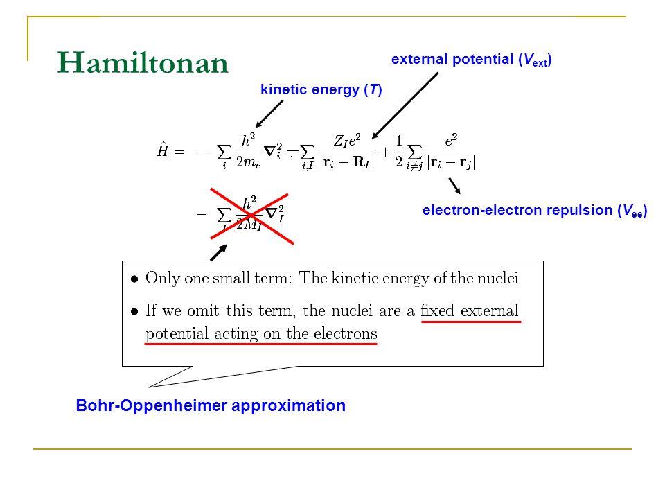 Bohr-Oppenheimer approximation