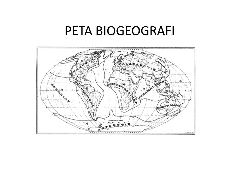 PETA BIOGEOGRAFI