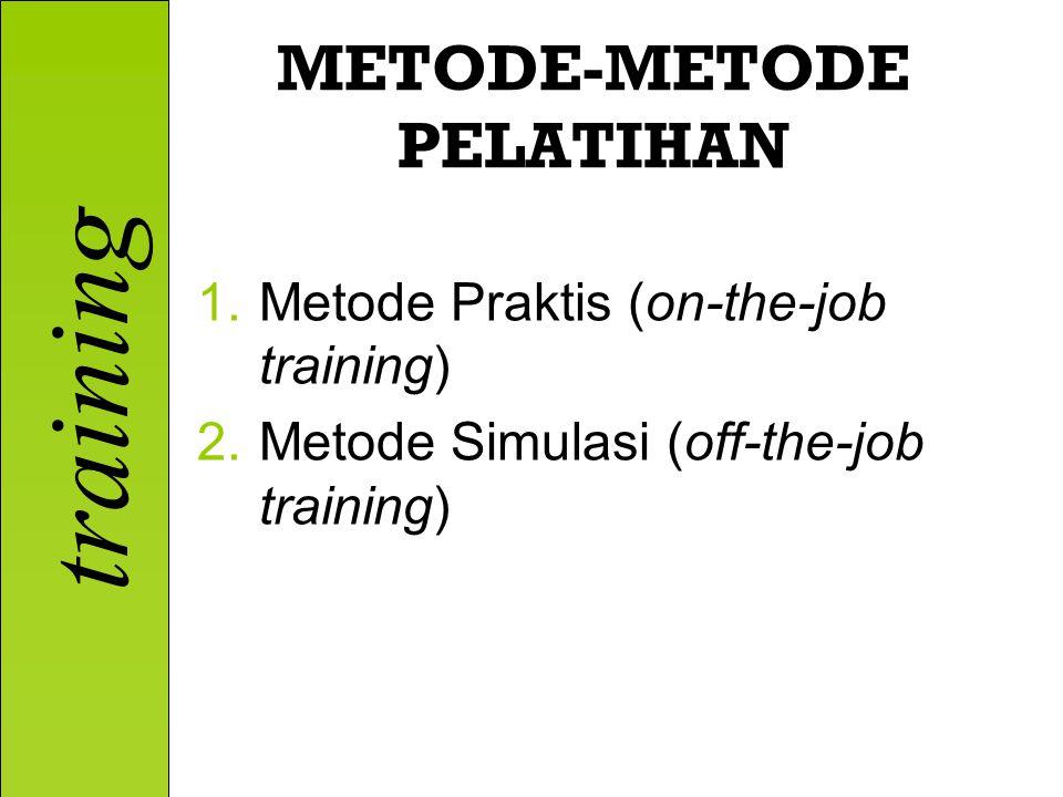 METODE-METODE PELATIHAN