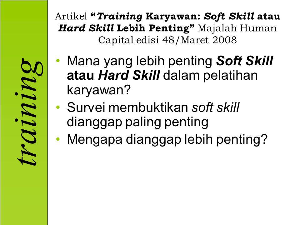 Survei membuktikan soft skill dianggap paling penting
