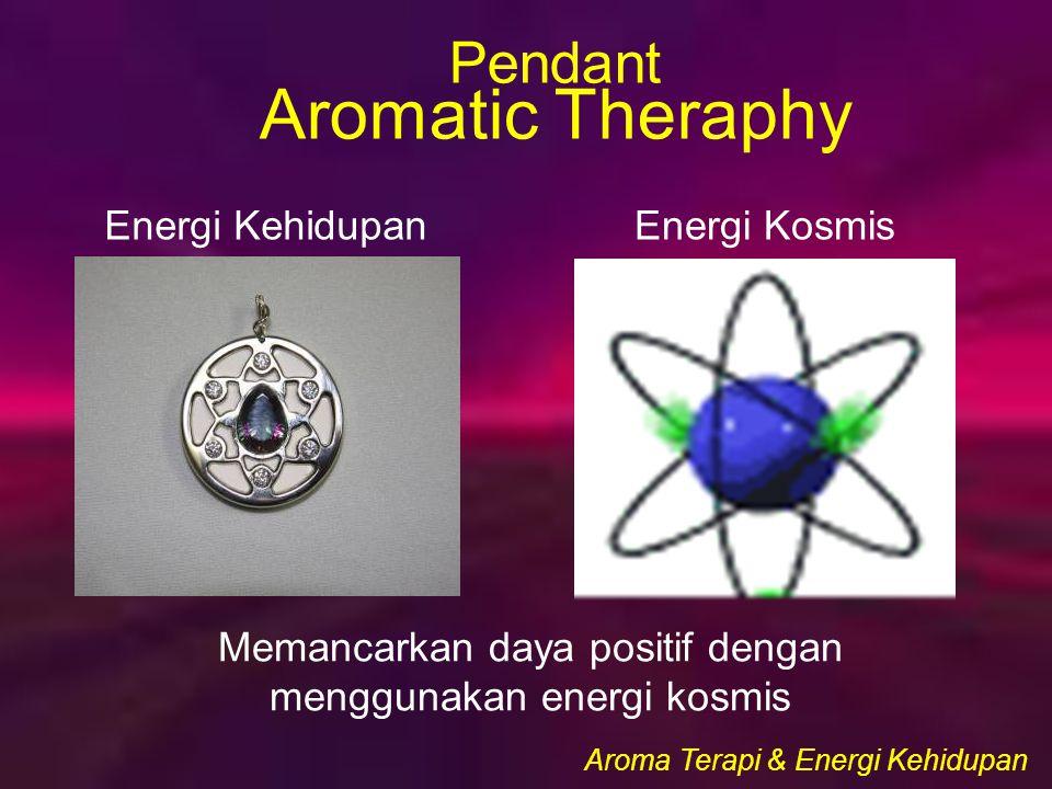 Memancarkan daya positif dengan menggunakan energi kosmis