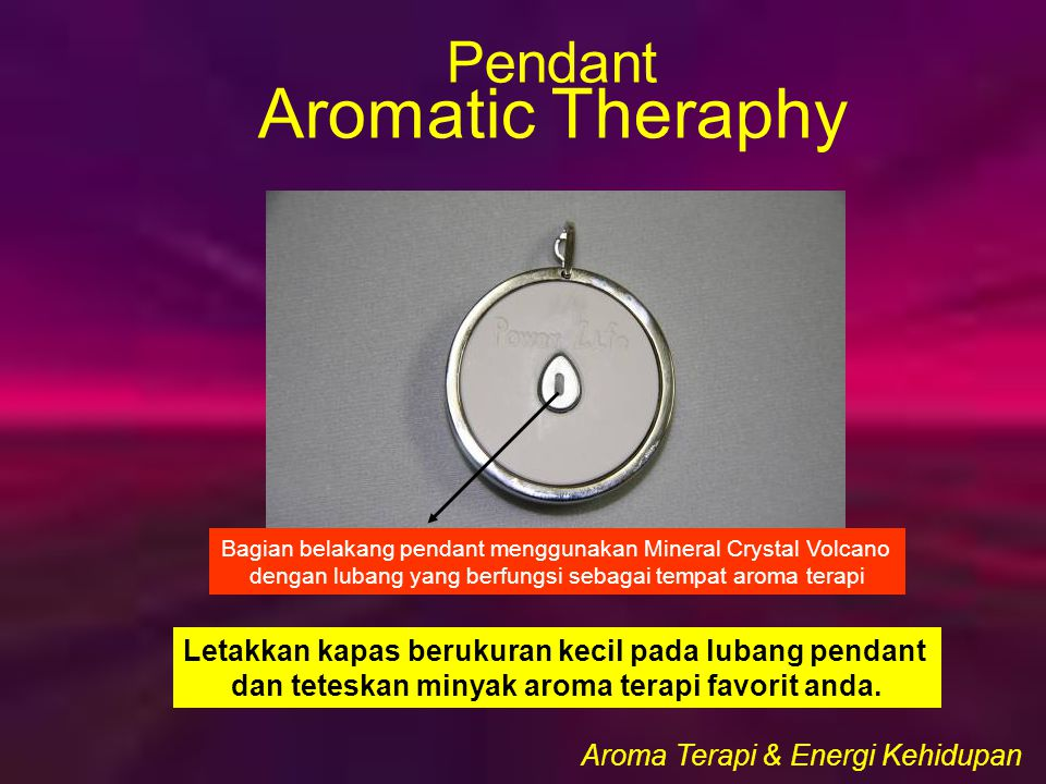 Aromatic Theraphy Pendant
