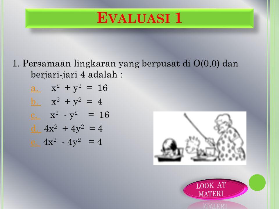 Evaluasi 1