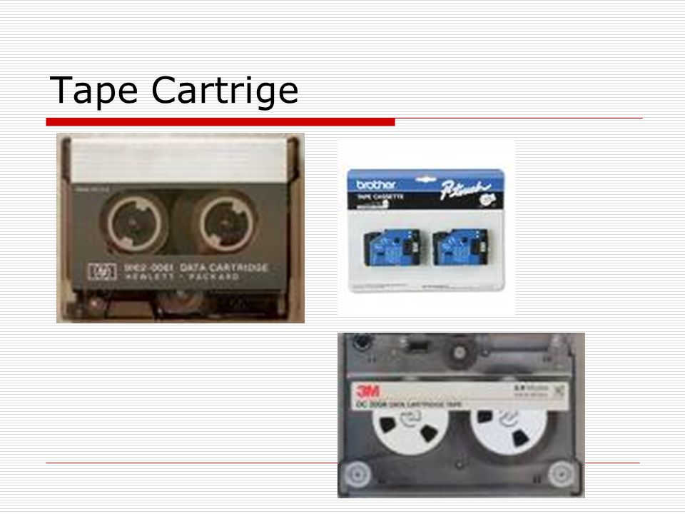 Tape Cartrige