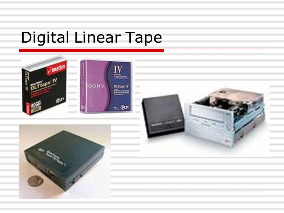 Digital Linear Tape