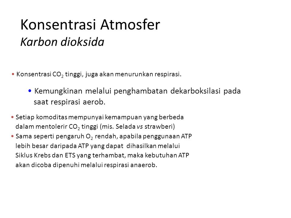 Konsentrasi Atmosfer Karbon dioksida